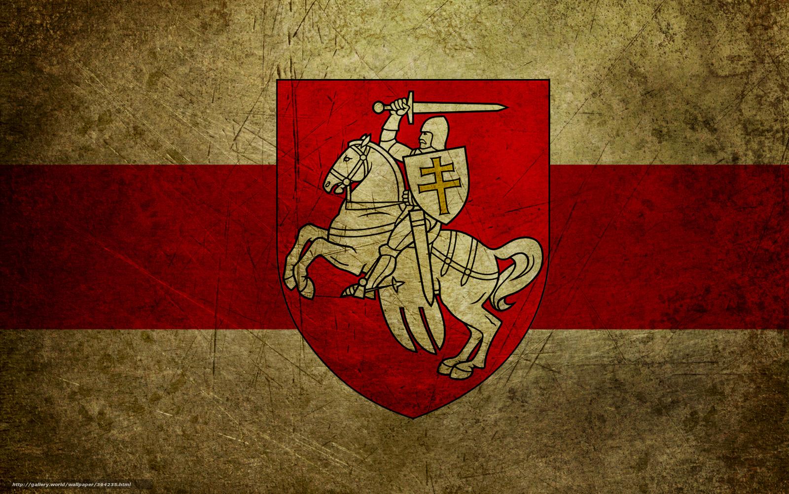 scaricare gli sfondi Bielorussia,  bandiera,  stemma,  inseguimento Sfondi gratis per la risoluzione del desktop 1920x1201 — immagine №394235