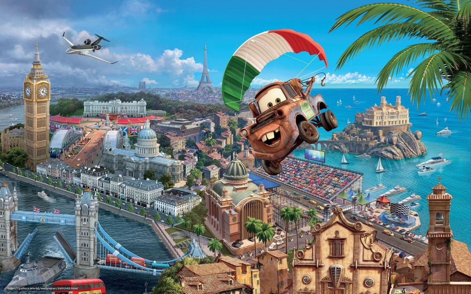 Download wallpaper Tokyo Drift,  Walt Disney,  Cartoon,  Sport free desktop wallpaper in the resolution 1680x1050 — picture №395245
