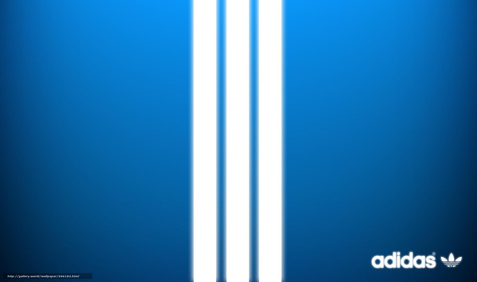 adidas fondo azul