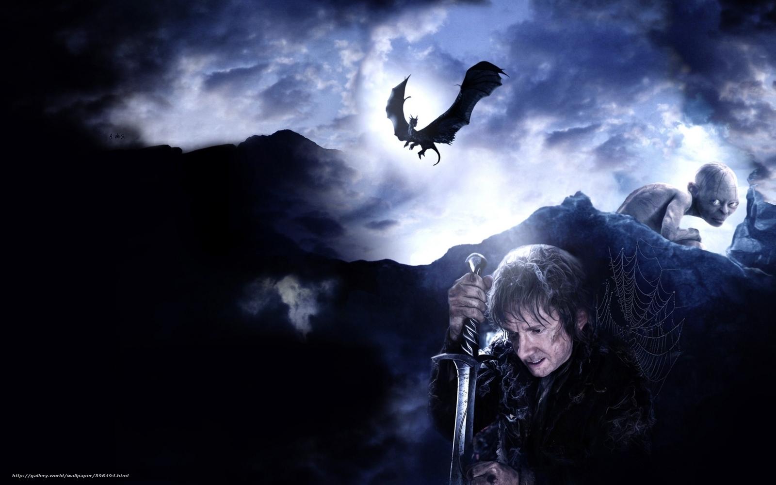 scaricare gli sfondi Hobbit,  Andata e ritorno,  un viaggio inaspettato,  film Sfondi gratis per la risoluzione del desktop 1680x1050 — immagine №396494