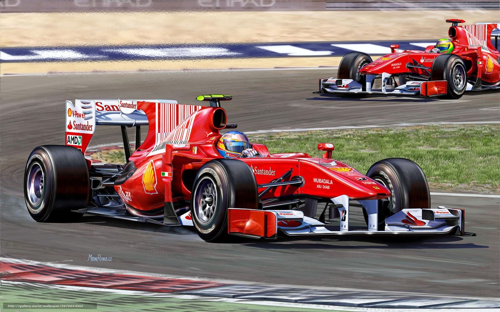 Tlcharger fond d 39 ecran dessin voiture de course boule de - Photo voiture de course ferrari ...