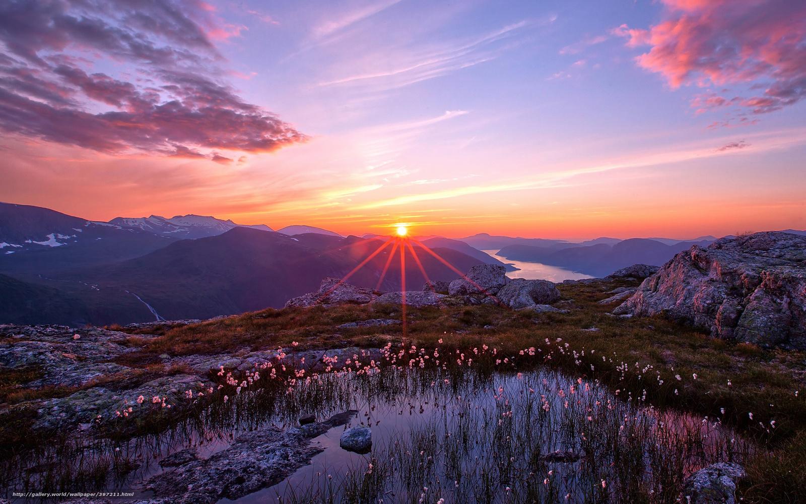 descarca imagini de fundal natur,  Muni,  apus de soare,  cer Imagini de fundal gratuite pentru rezoluia desktop 1920x1200 — imagine №397211