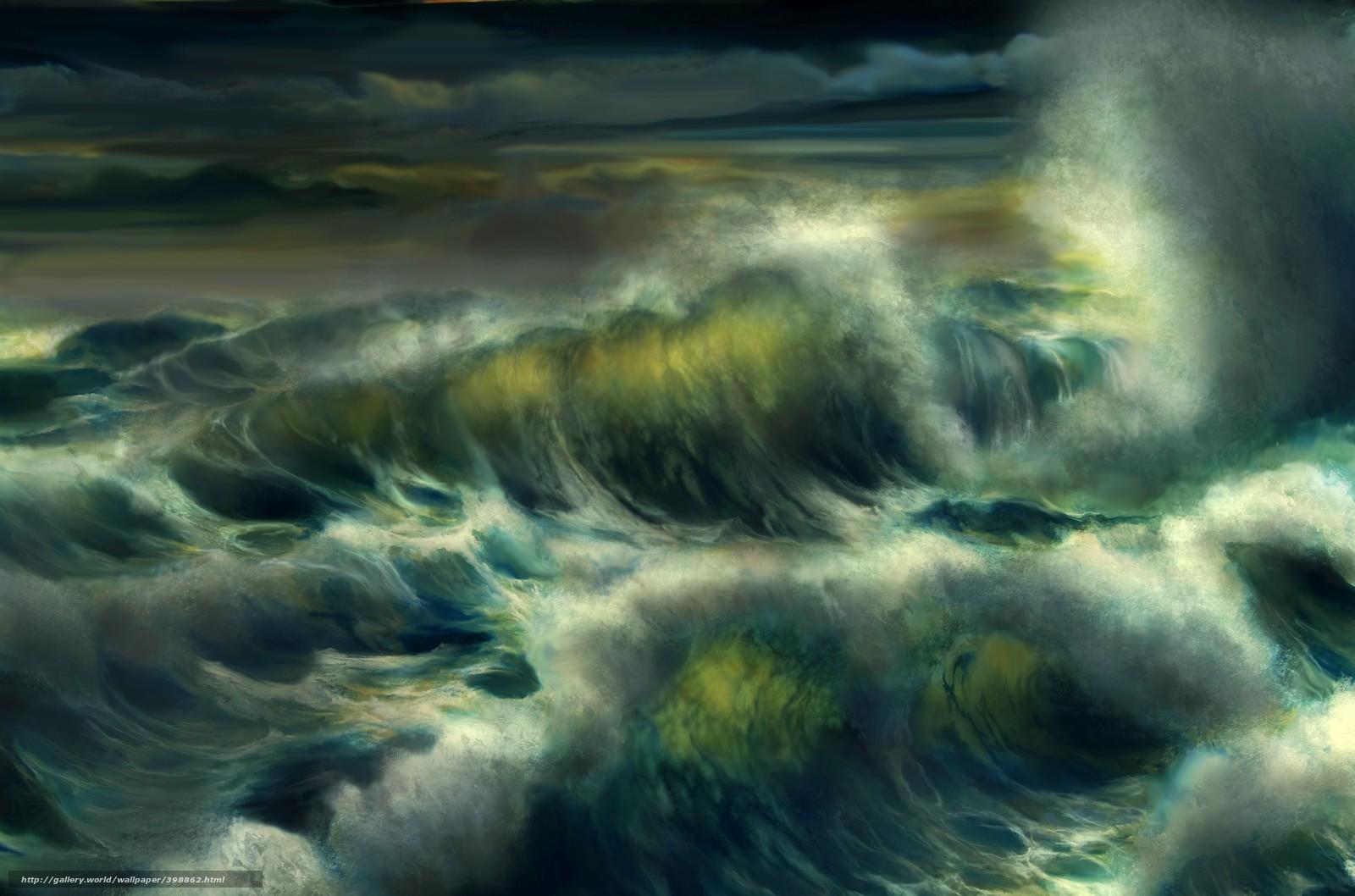 Море в шторм фото