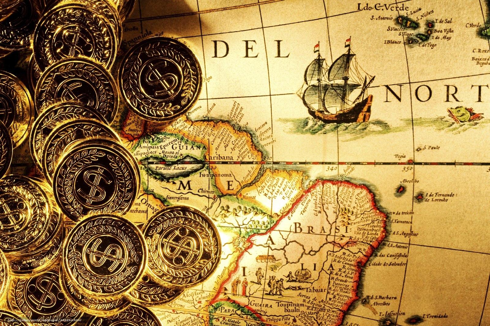 Картинки для декупажа с монетами