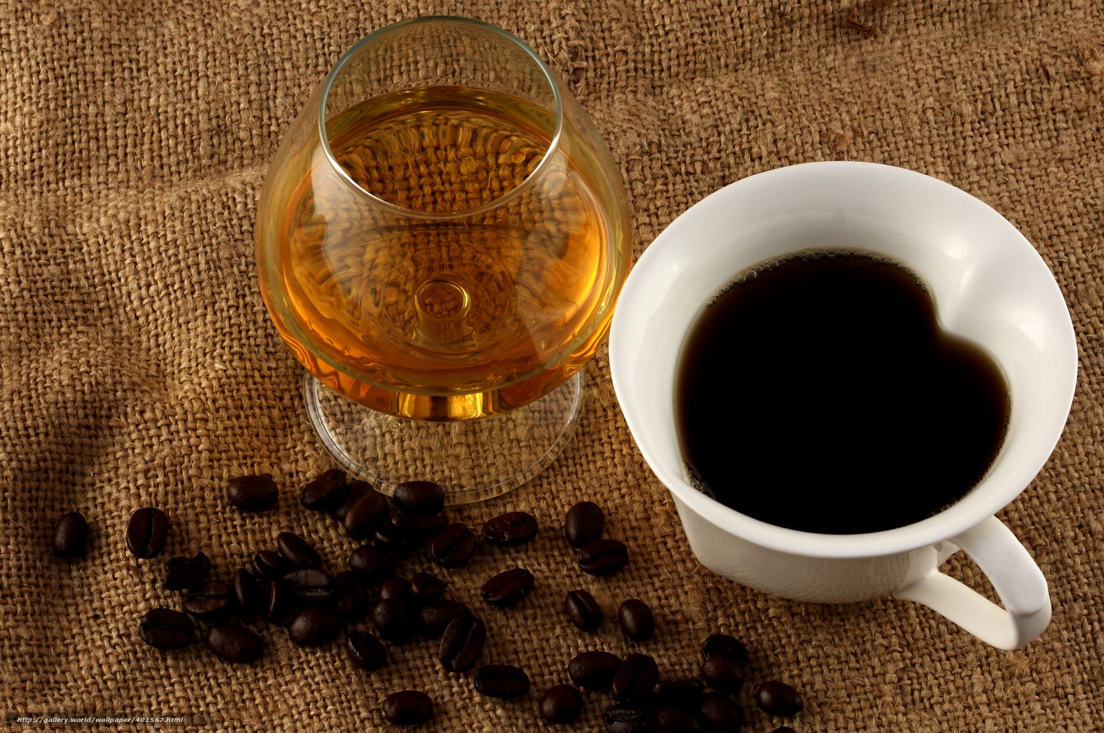 Download wallpaper Brandy,  goblet,  coffee,  grain free desktop wallpaper in the resolution 6080x4040 — picture №401567