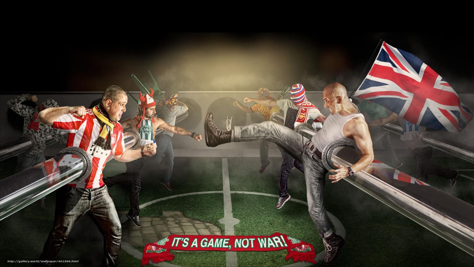 I игры про фанатов футбола