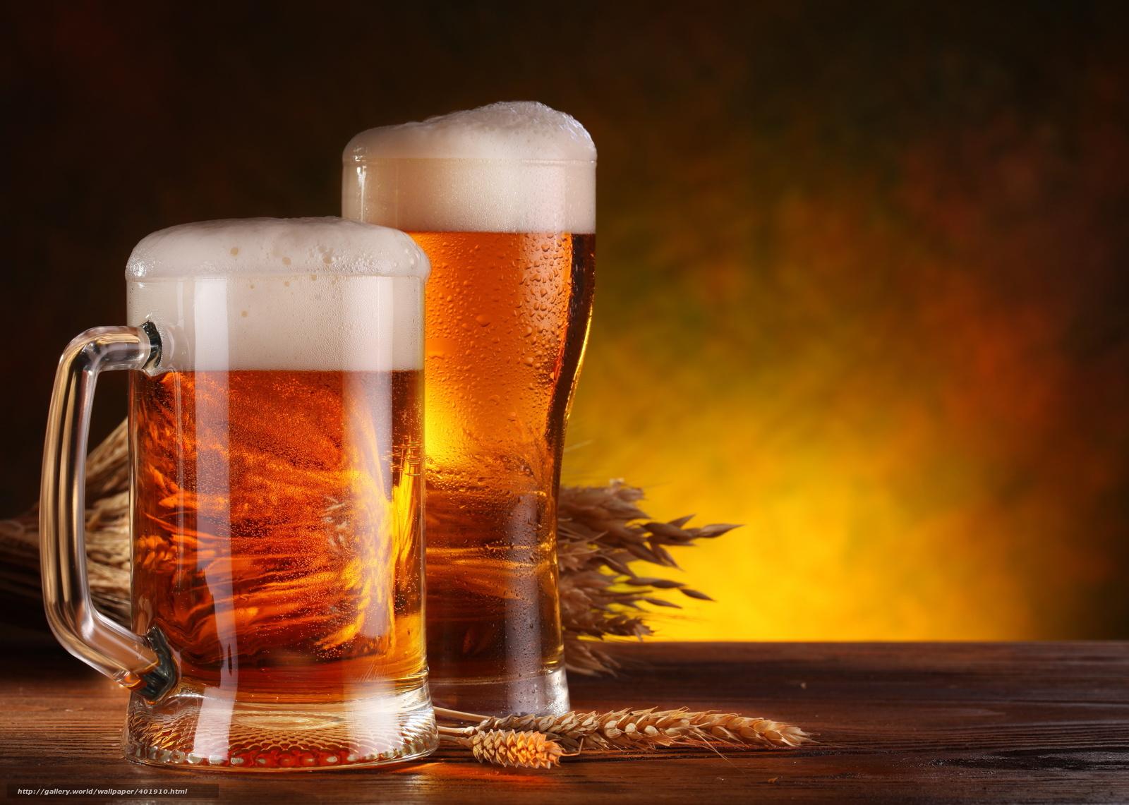 Download wallpaper goblet,  mug,  beer,  foam free desktop wallpaper in the resolution 5100x3636 — picture №401910
