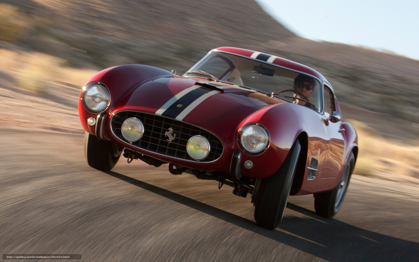 Download Wallpaper Ferrari Red Front Classic Free Desktop Wallpaper In The Resolution 1680x1050 Picture 401934