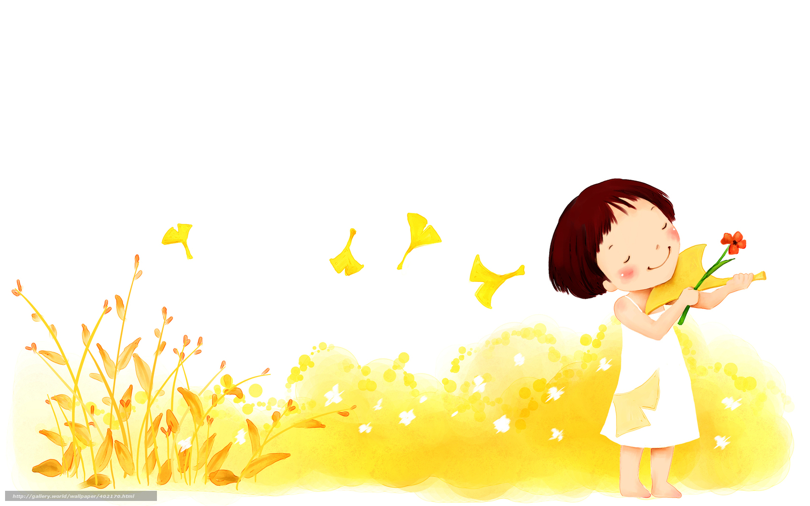 Tlcharger fond d 39 ecran enfants papier peint fleurs fille enfant fonds - Papier peint enfant fille ...