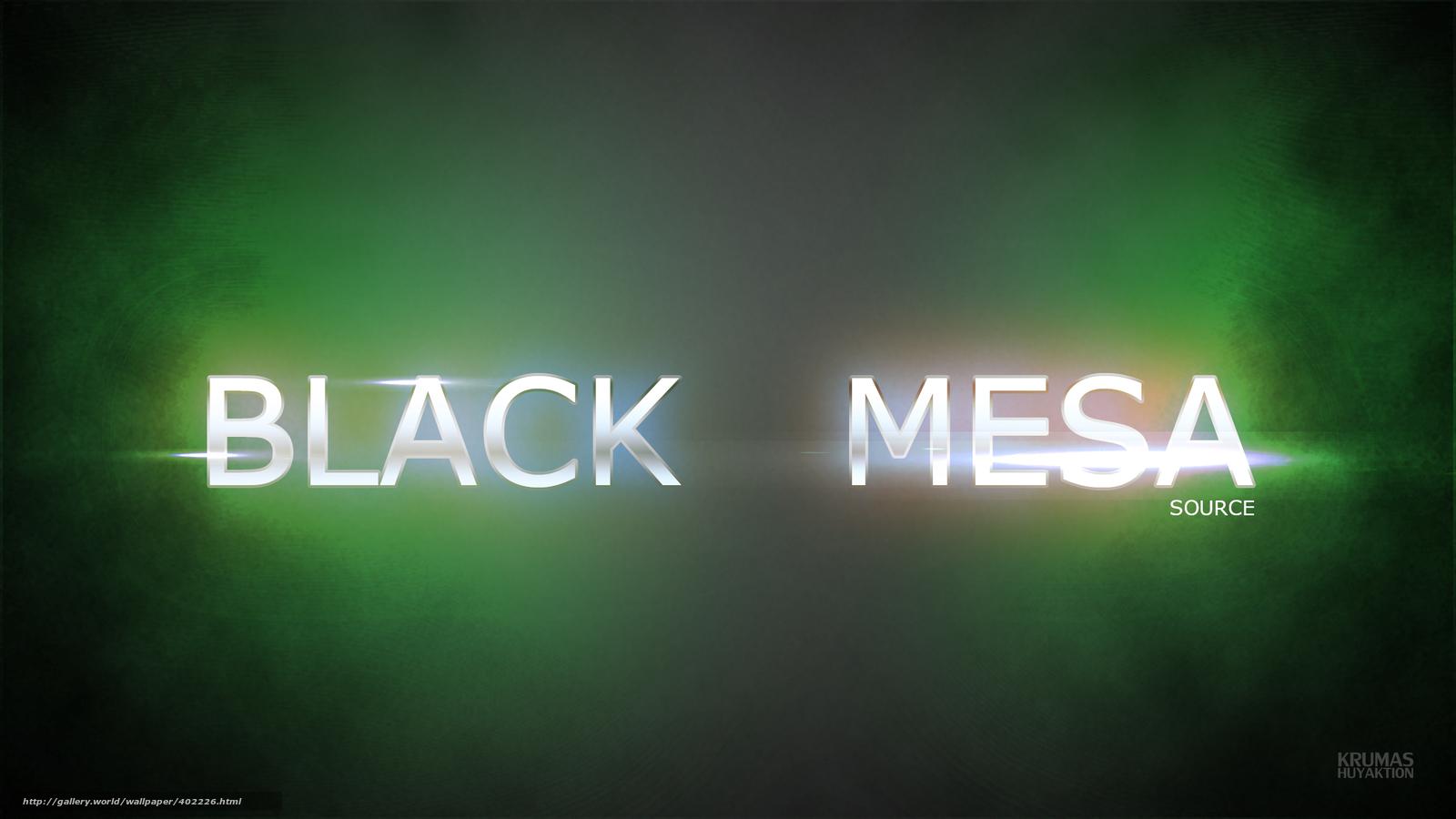 Tlcharger Fond Decran Noir Mesa Source Half Life Fonds D