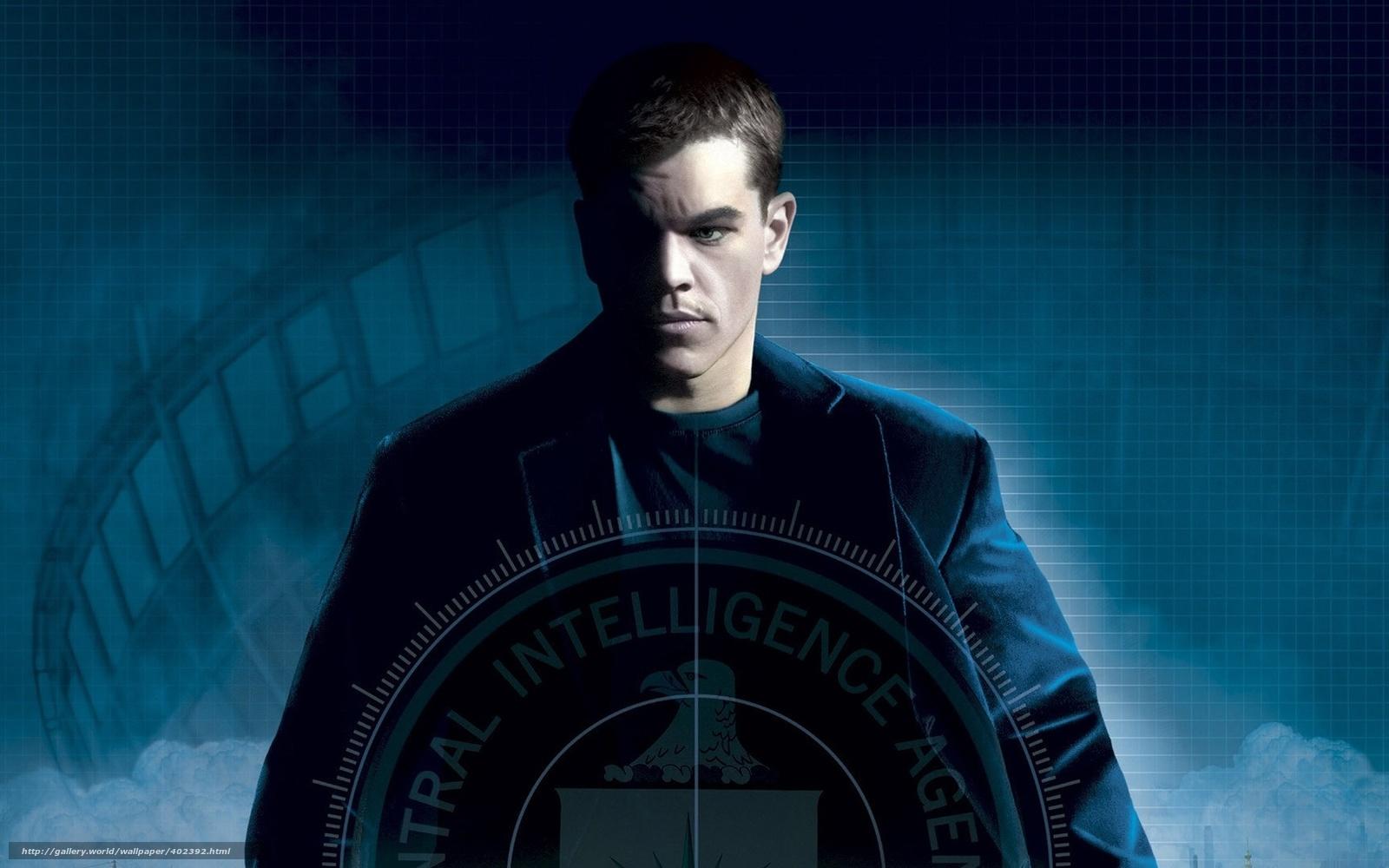 Download wallpaper The Bourne Supremacy,  wallpaper,  BORN,  Matt Damon free desktop wallpaper in the resolution 1680x1050 — picture №402392