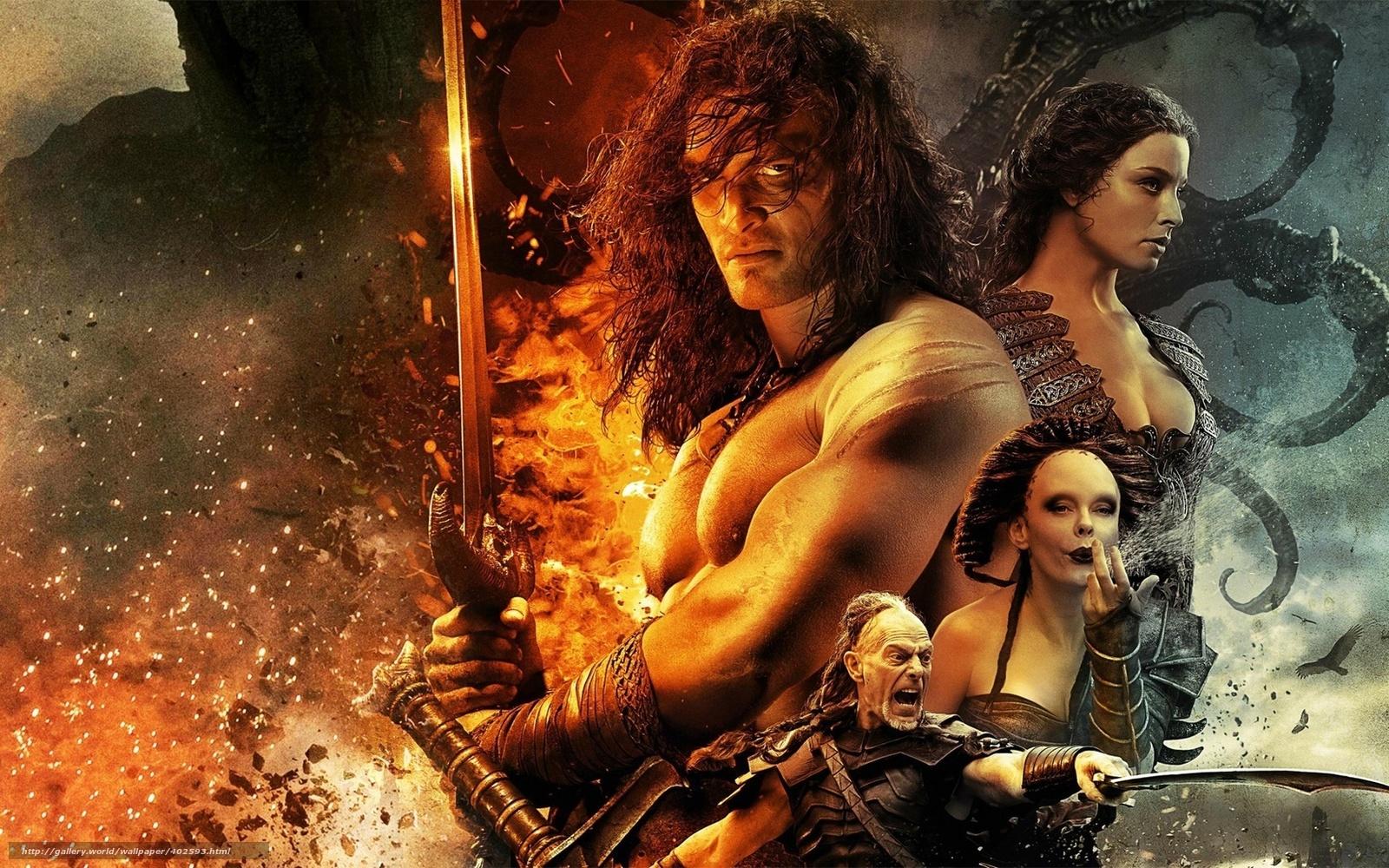 scaricare gli sfondi fantasia,  guerriero,  Conan il Barbaro Sfondi gratis per la risoluzione del desktop 1680x1050 — immagine №402593