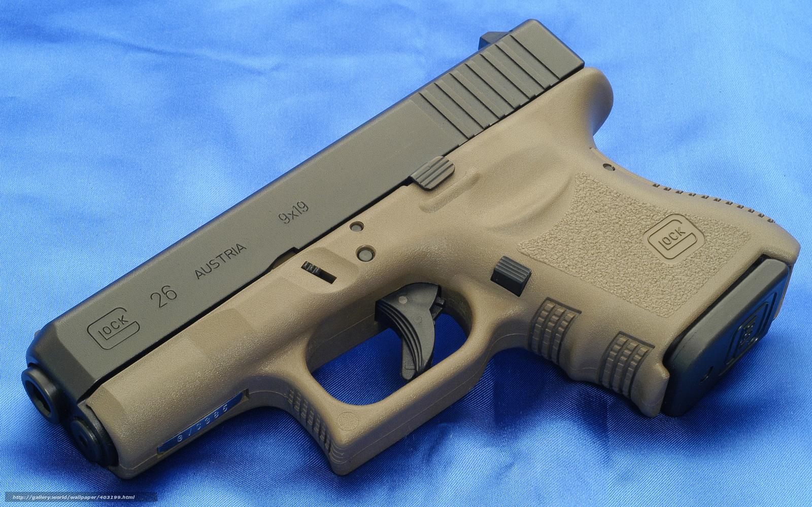Download wallpaper gun, Glock