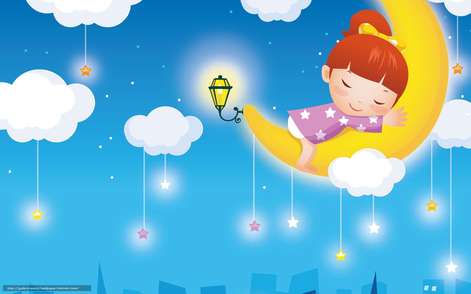 Scaricare gli sfondi carta da parati per bambini ragazza for Carta da parati bambini on line