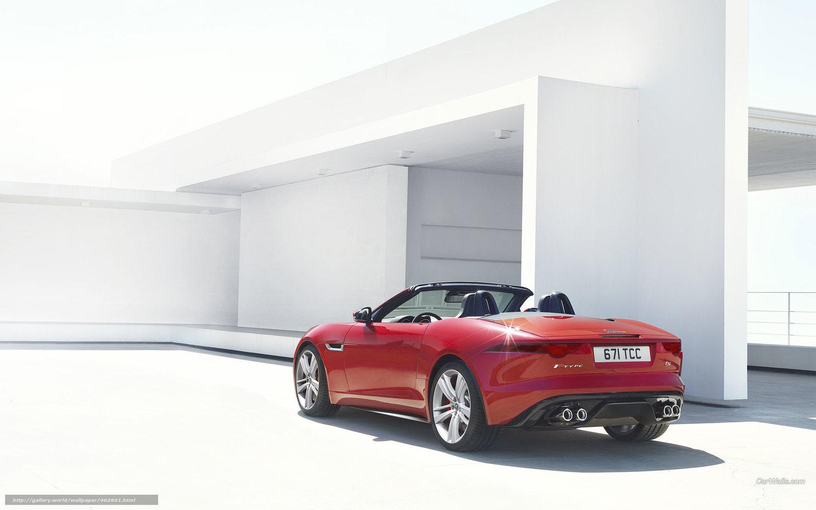 Скачать обои Jaguar,  F-Type,  авто,  машины бесплатно для рабочего стола в разрешении 2560x1600 — картинка №403901