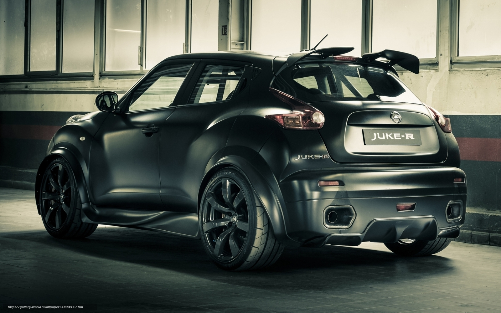 Download wallpaper nissan juke concept black free desktop wallpaper in the resolution 1680x1050 picture 404392