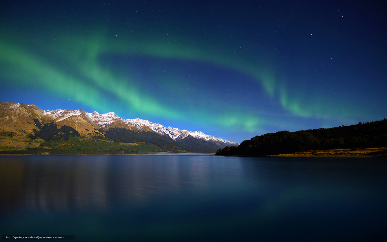 Download wallpaper lake,  New Zealand,  evening,  radiance free desktop wallpaper in the resolution 1680x1050 — picture №405736