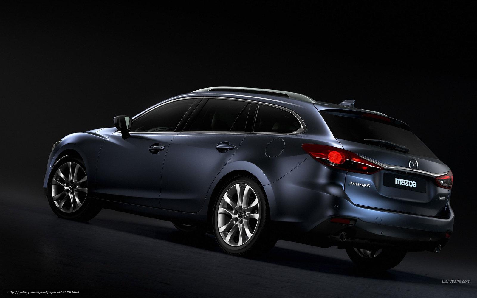 下载壁纸 Mazda,  MAZDA6,  汽车,  机械 免费为您的桌面分辨率的壁纸 2560x1600 — 图片 №406279