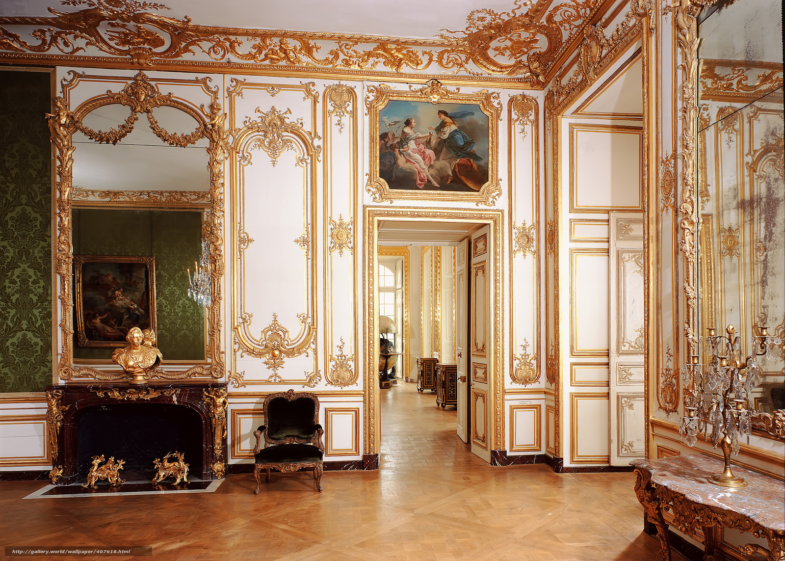 photo collection versailles palace interior wallpaper