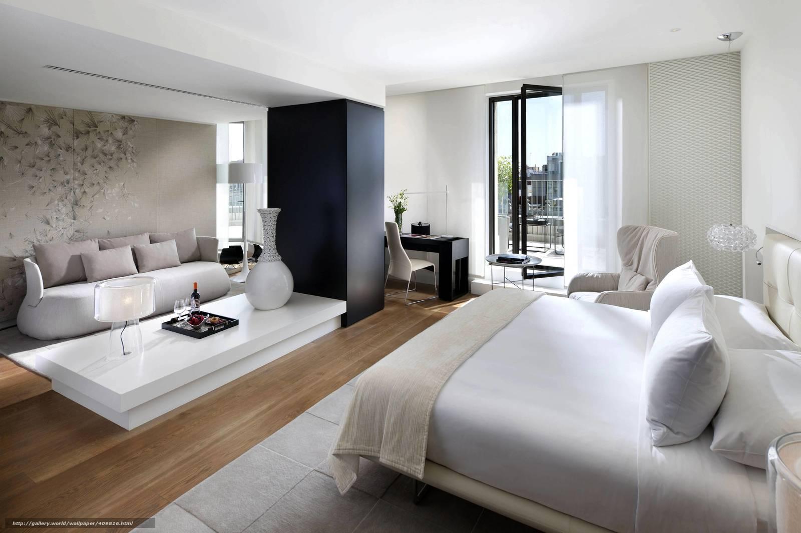 Download hintergrund innen , design, stil, schlafzimmer freie ...