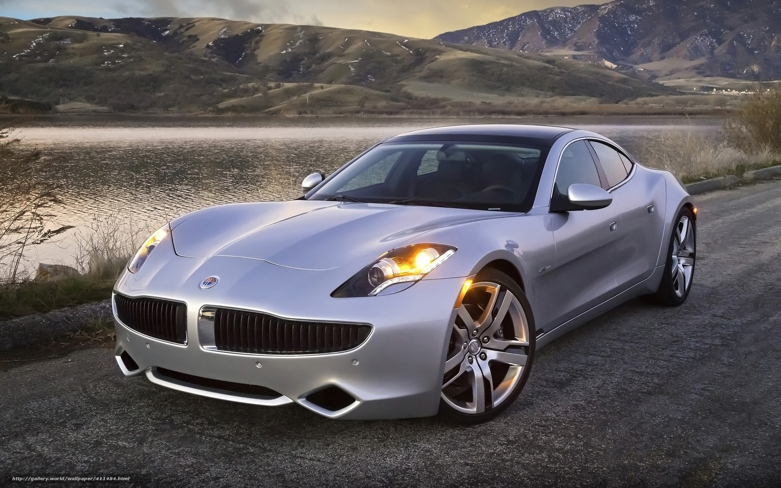 Download wallpaper Fisker,  karma,  hybrid,  sedan free desktop wallpaper in the resolution 1680x1050 — picture №411484