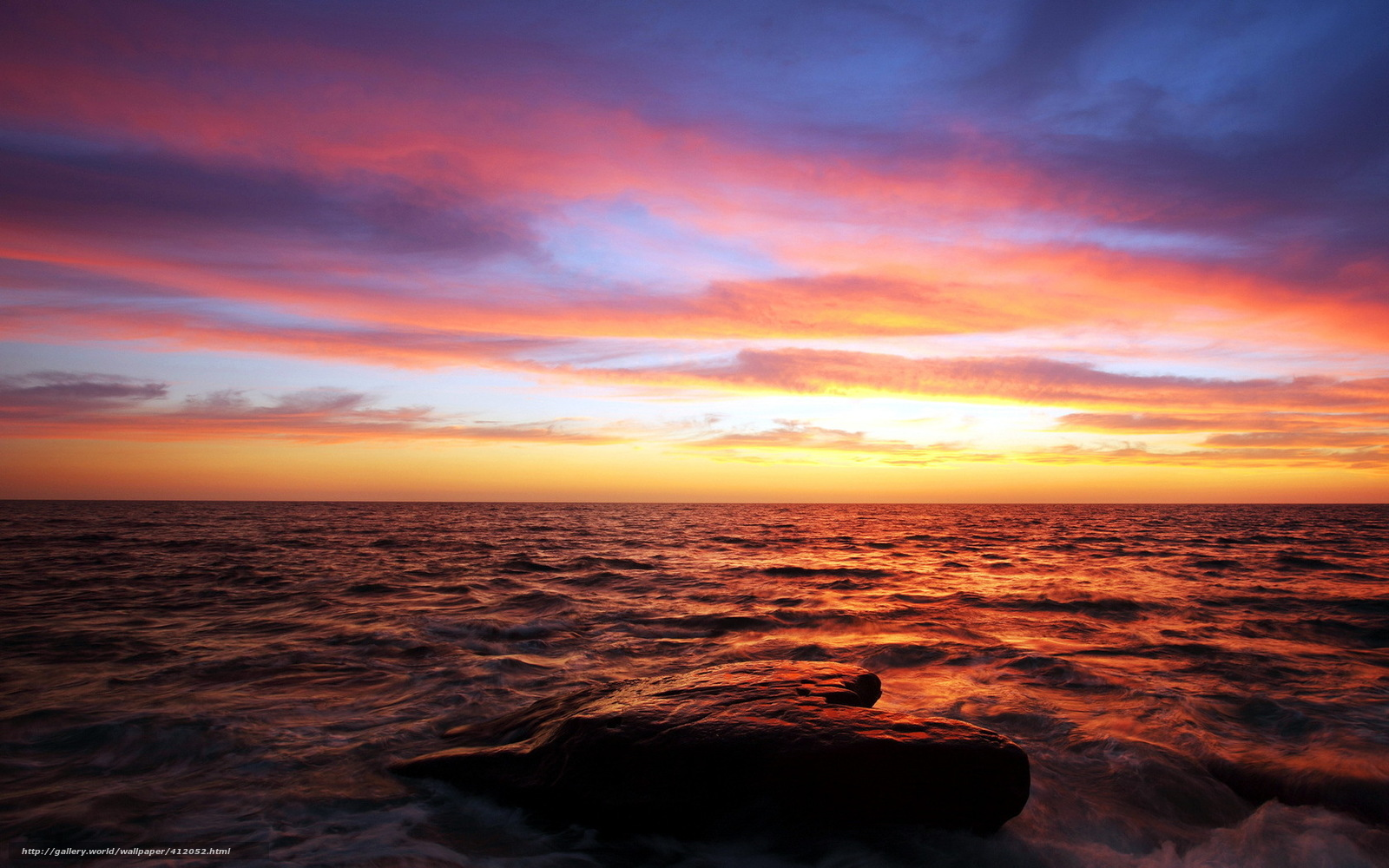 Scaricare gli sfondi mare tramonto cielo paesaggio for Sfondi desktop tramonti mare