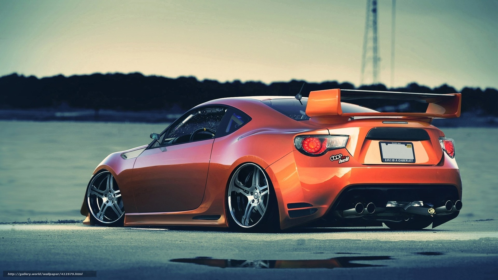 Download Wallpaper Car Tuning Beautiful Cars Free Desktop Wallpaper In The Resolution 1920x1080 Picture 412575