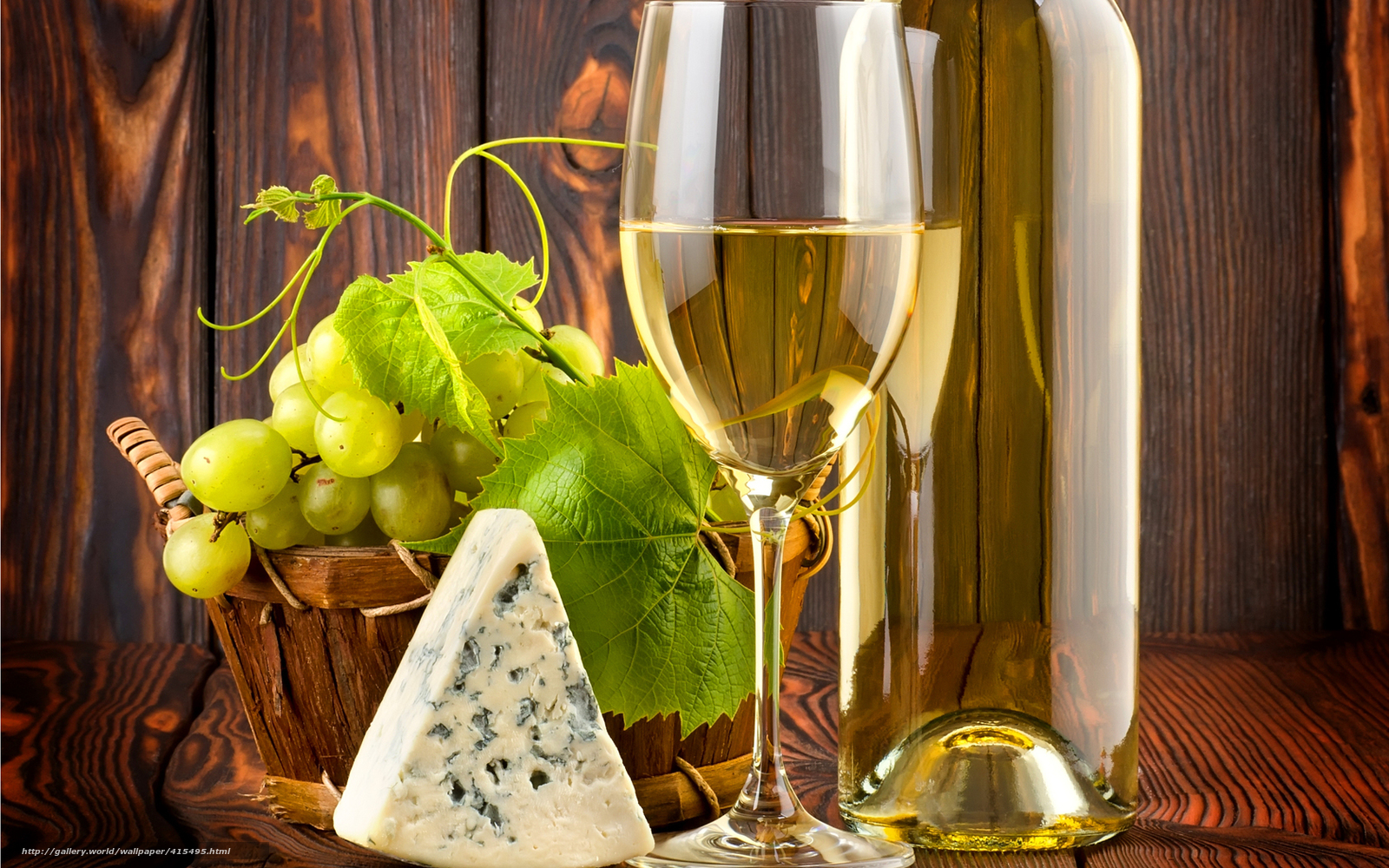 Download wallpaper table,  bottle,  wine,  White free desktop wallpaper in the resolution 1680x1050 — picture №415495