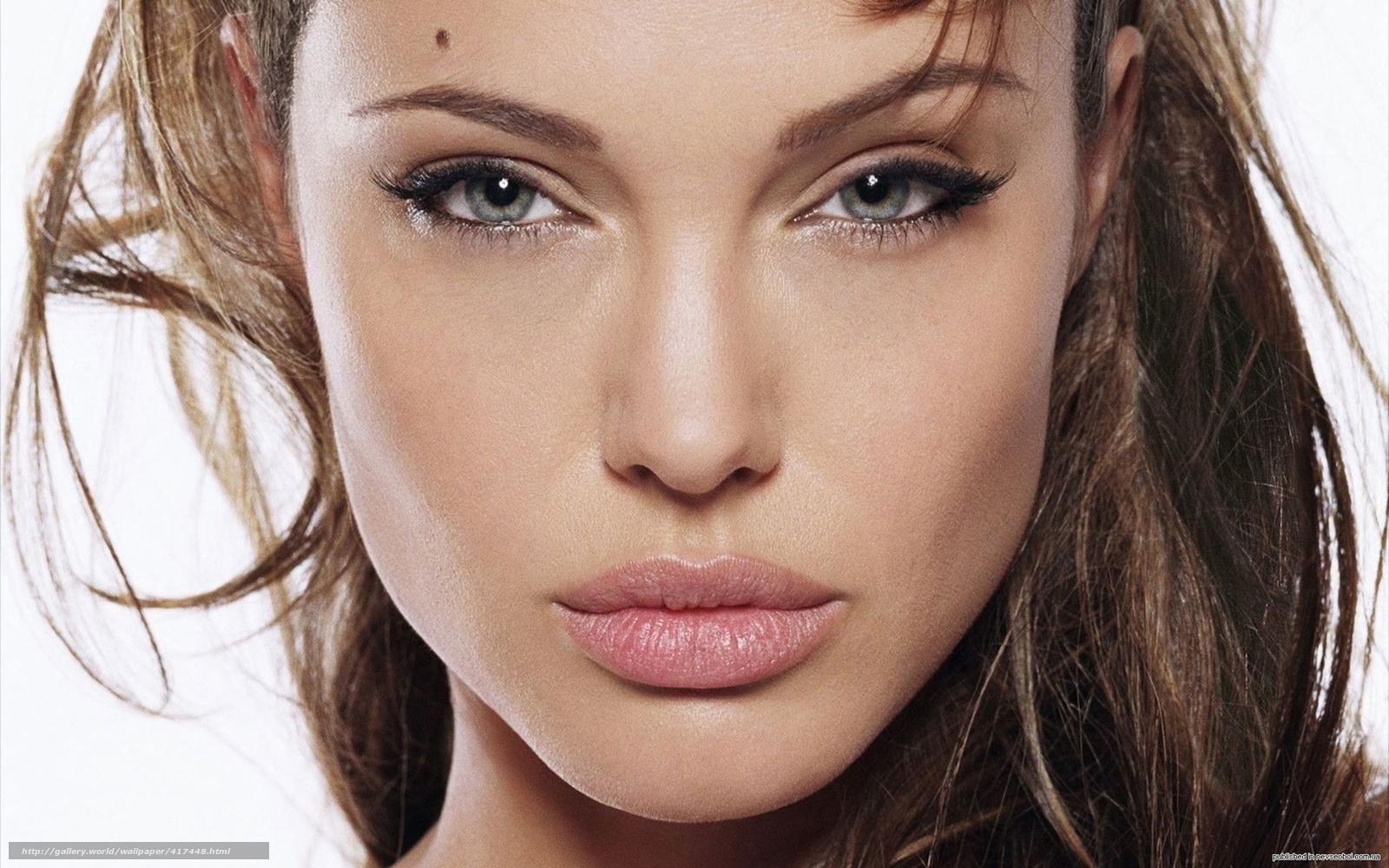 Tlcharger fond d 39 ecran fille angelina jolie visage for Fond ecran jolie fille