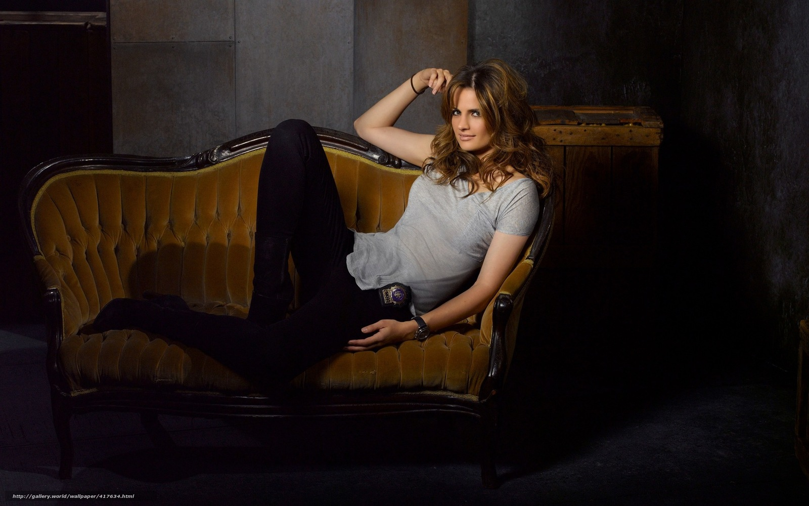 Download wallpaper Castle, series, Kate Beckett, CATIC mill