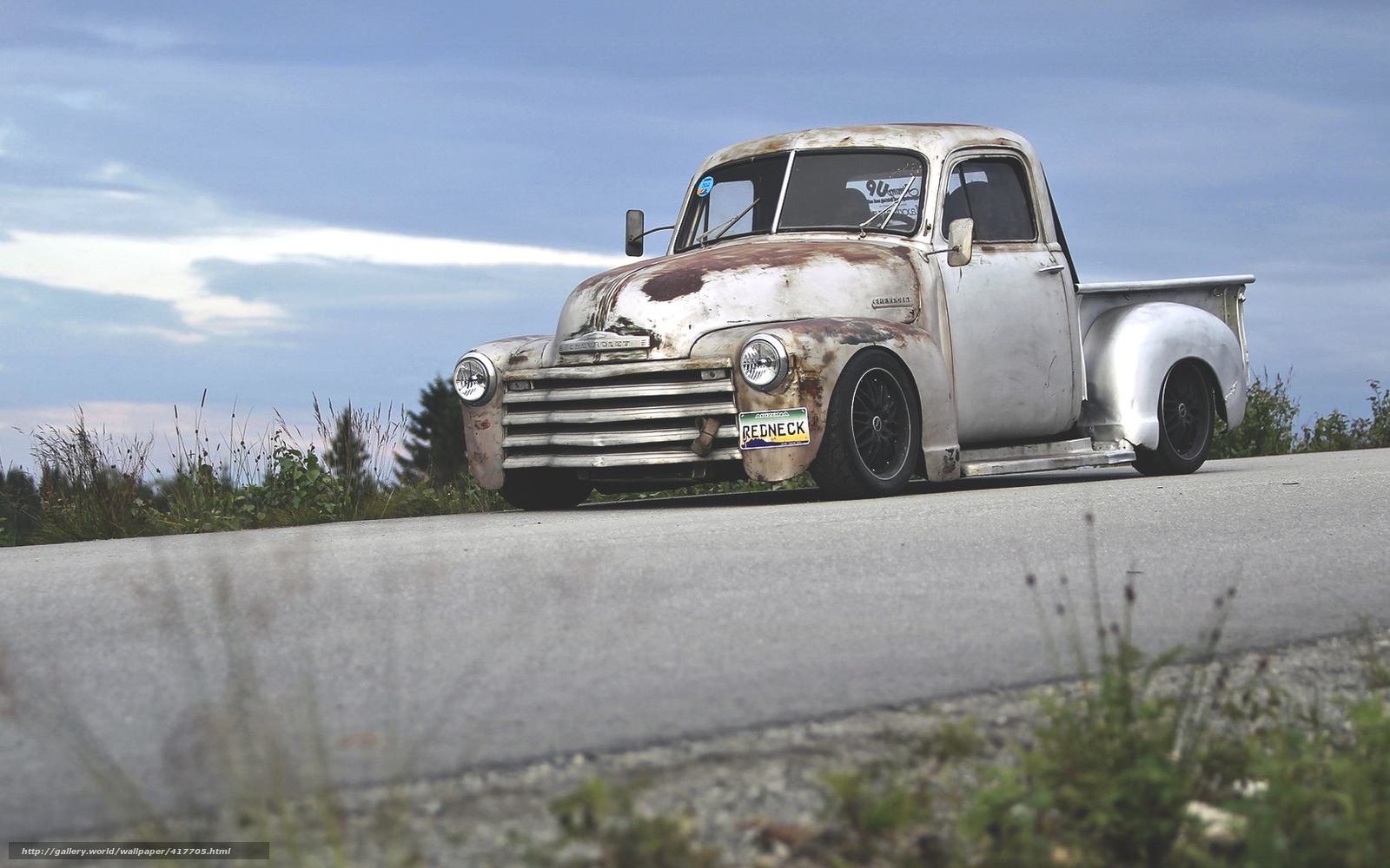 Download wallpaper chevrolet pickup hot rod truck free desktop wallpaper in the resolution 1680x1050 picture 417705
