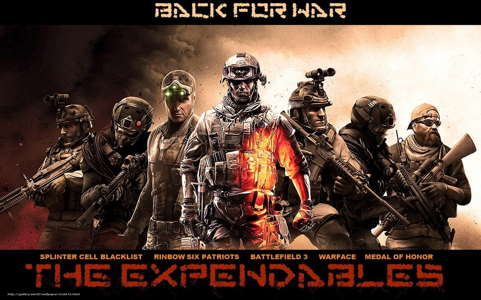 Descargar Gratis The Expendables Hroes Juegos Sam Fisher