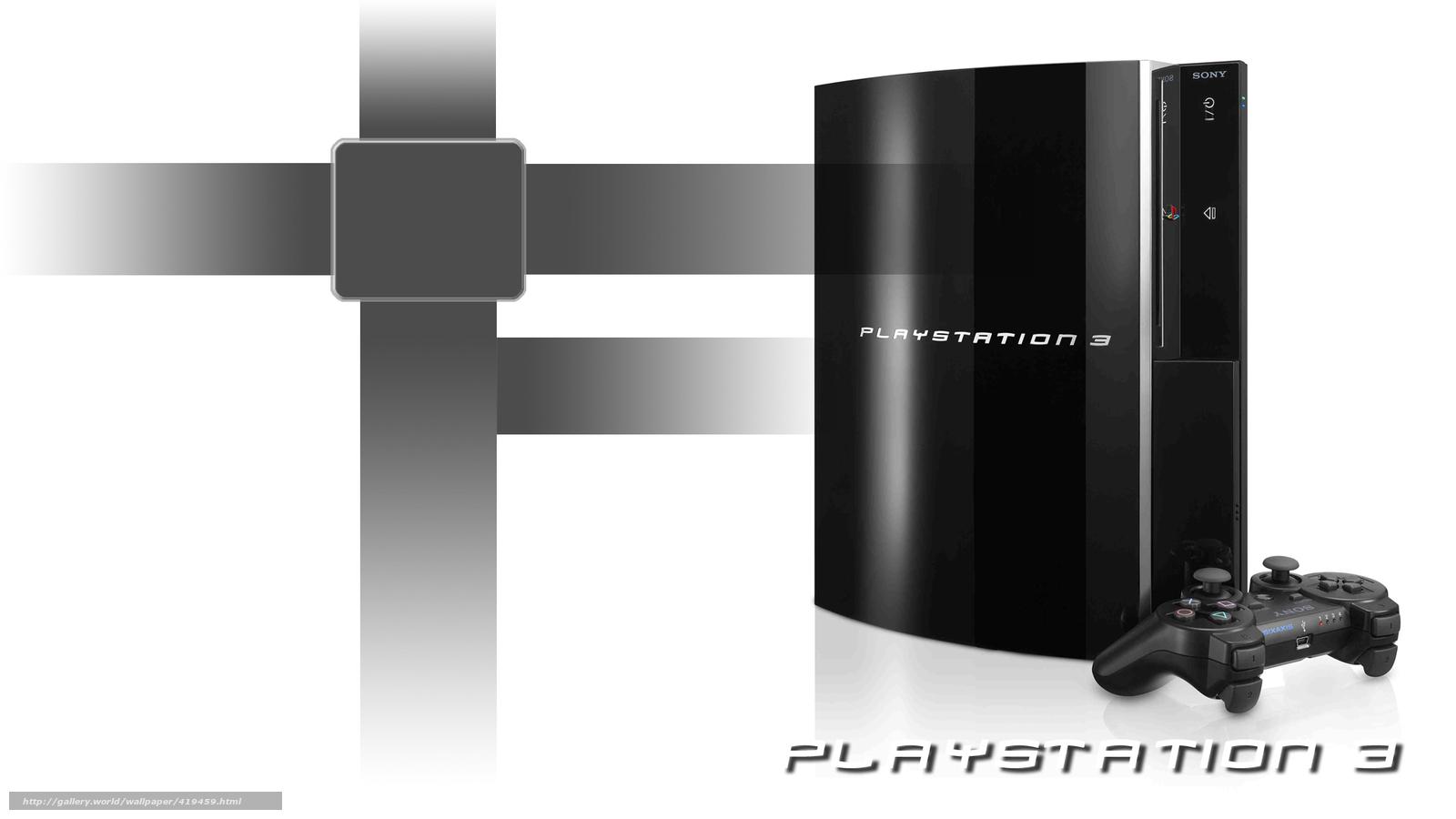 Tlcharger fond d 39 ecran noir manche balai playstation 3 for Fond ecran ps3