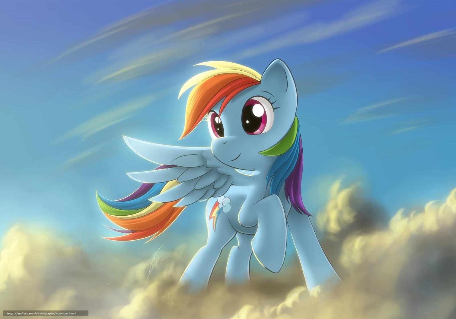 Download wallpaper my little pony,  cartoon,  pony free desktop wallpaper in the resolution 2000x1400 — picture №420326