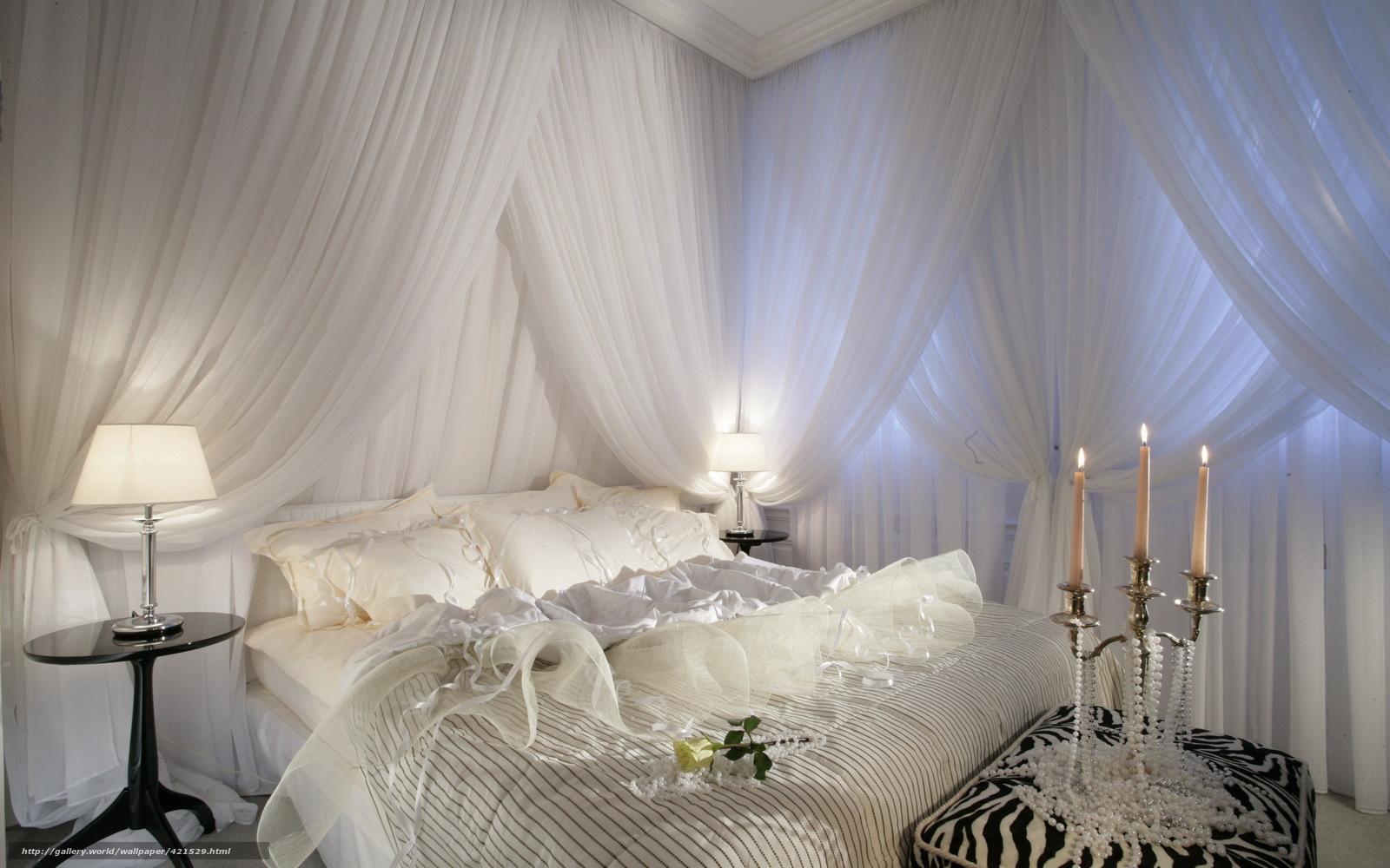 Candele Camera Da Letto : Scaricare gli sfondi camera da letto bianco letto candele