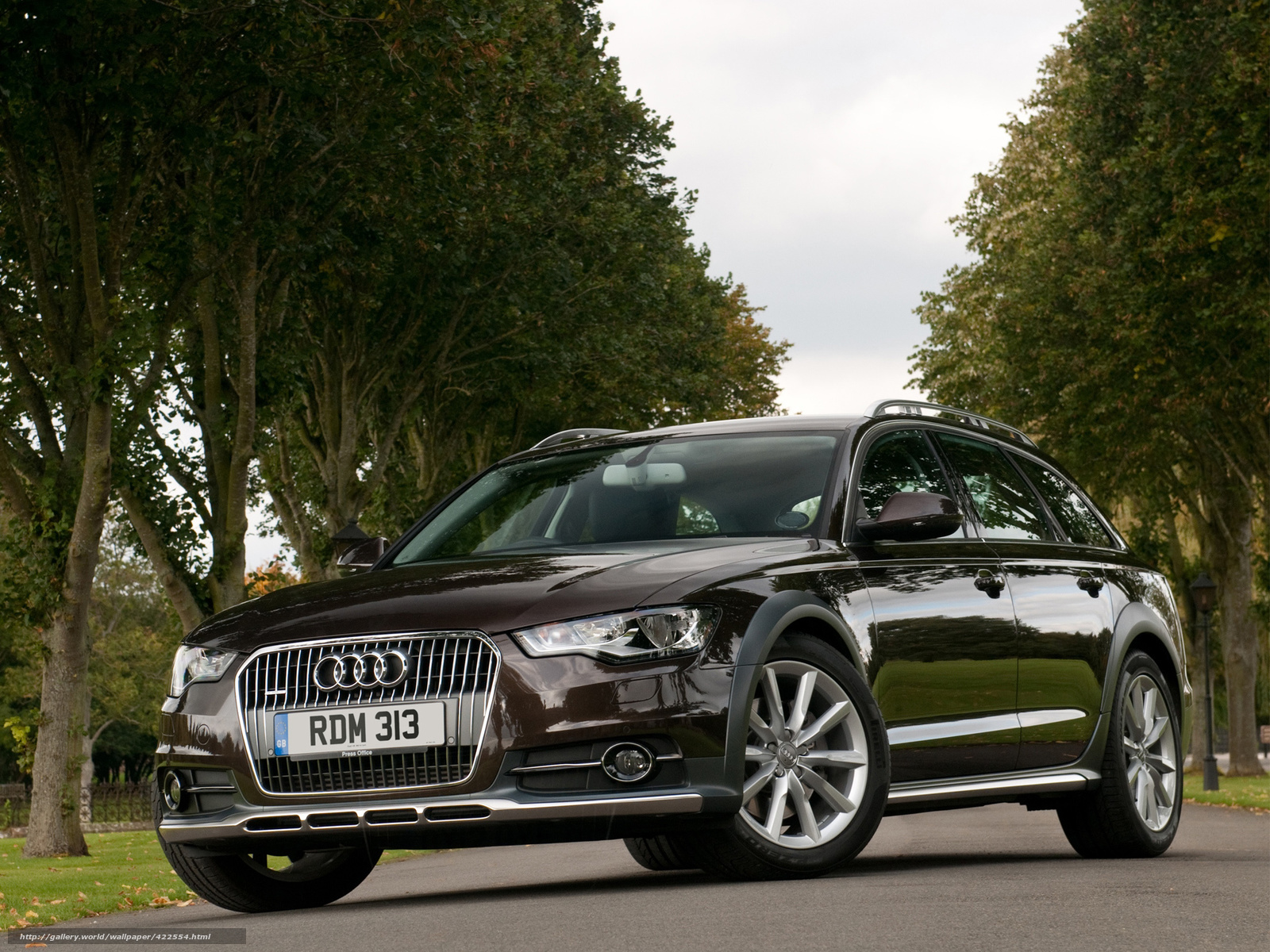 Download wallpaper Audi A6 allroad Touring free desktop