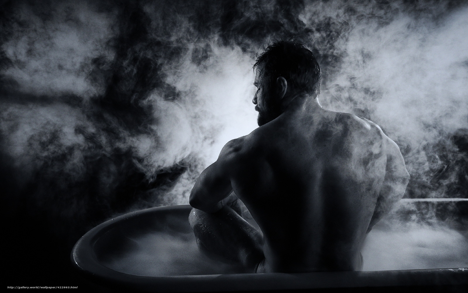 Uomo In Vasca Da Bagno.Scaricare Gli Sfondi Uomo Vasca Da Bagno Sfondo Sfondi Gratis Per