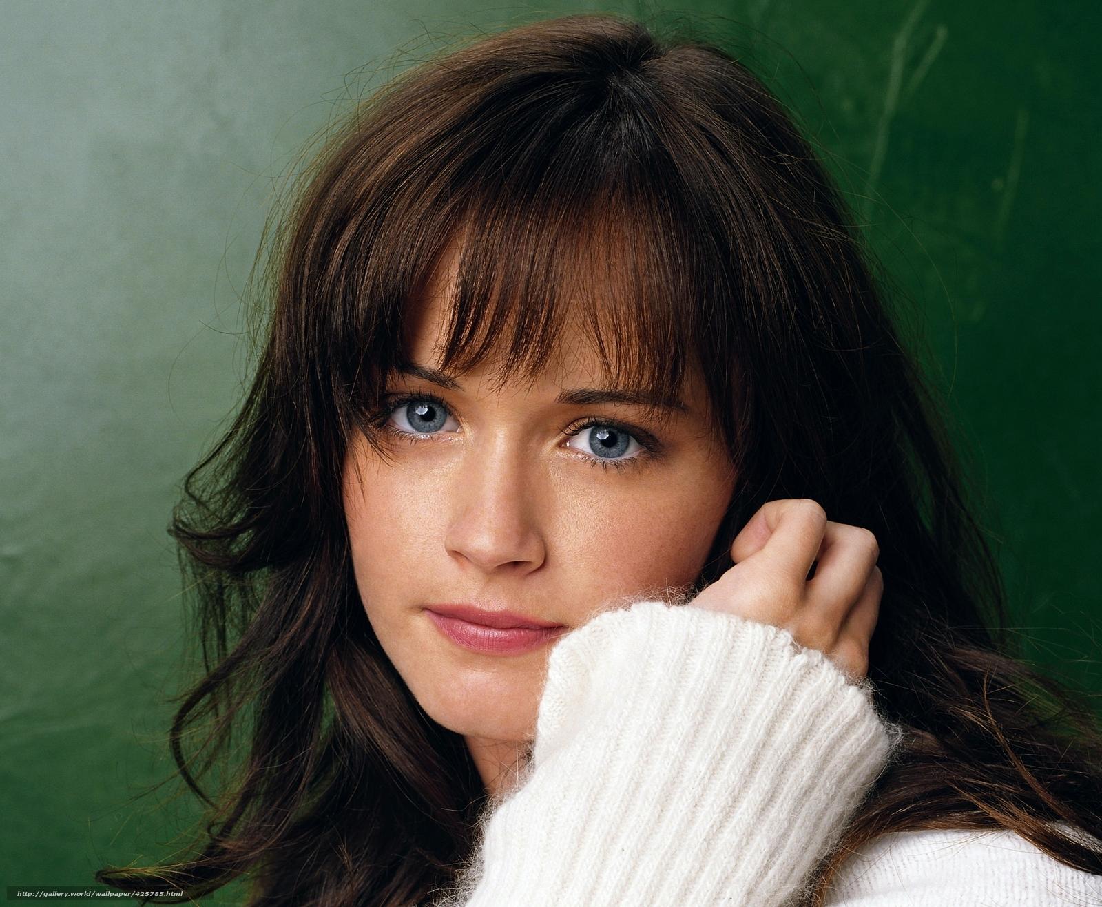 Tlcharger fond d 39 ecran humeur alexis bledel actrice amricaine les yeux bleus fonds d 39 ecran - Actrice yeux bleus ...