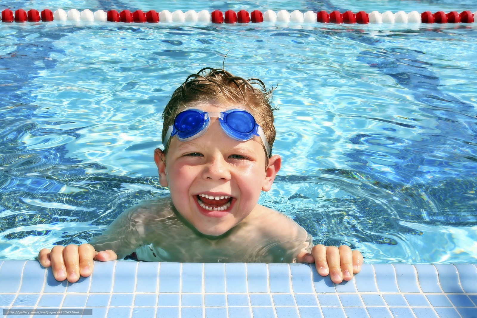 Download Wallpaper Boy Child Water Swimming Pool Free Desktop Wallpaper In The Resolution