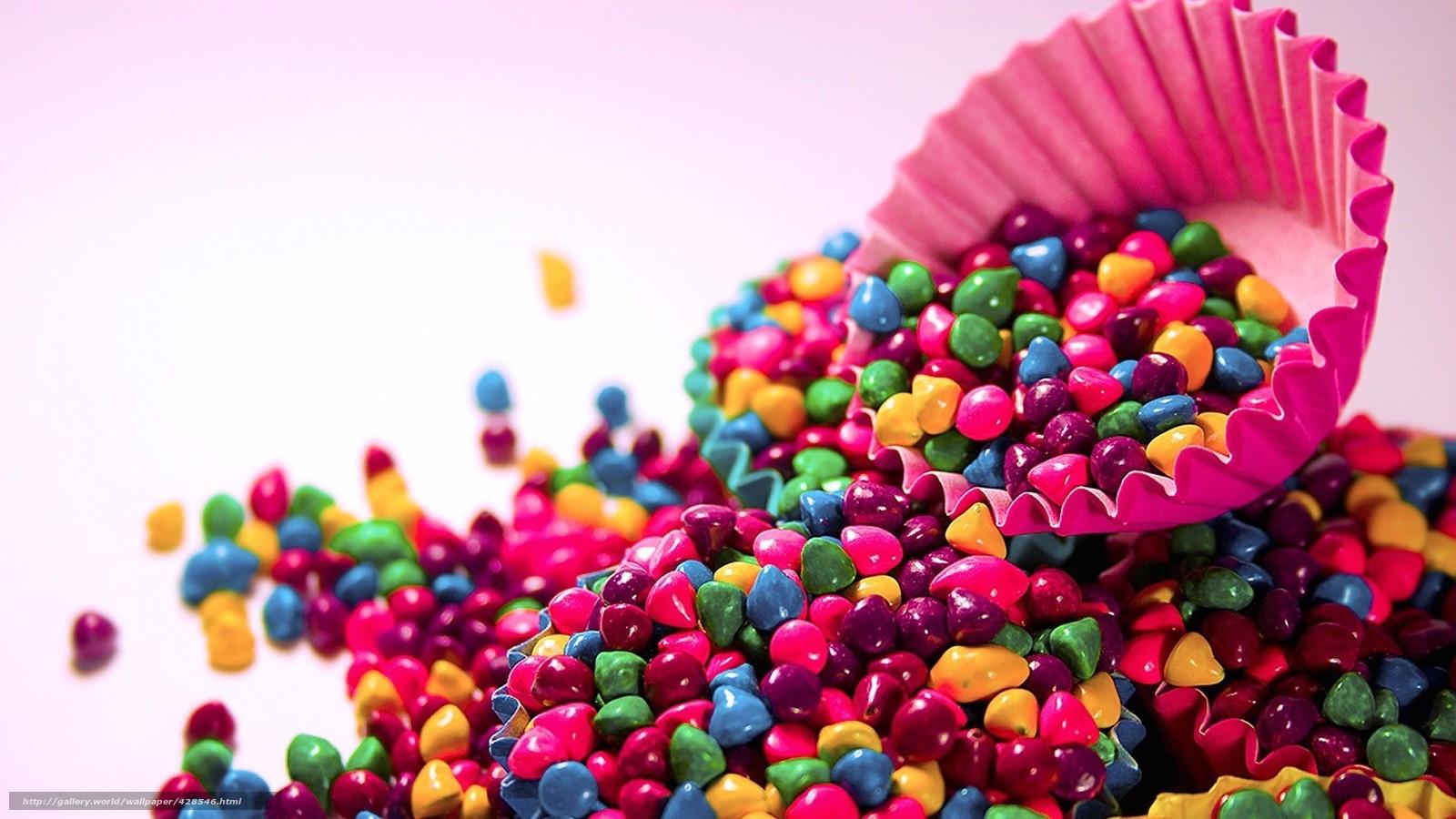 Скачать обои настроения,  конфеты,  конфетки,  цветные бесплатно для рабочего стола в разрешении 1920x1080 — картинка №428546