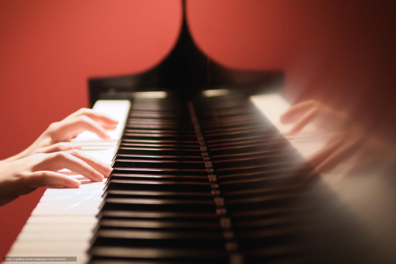 壁紙をダウンロード ピアノ 手 音楽 デスクトップの解像度のための無料壁紙 19x1280 絵