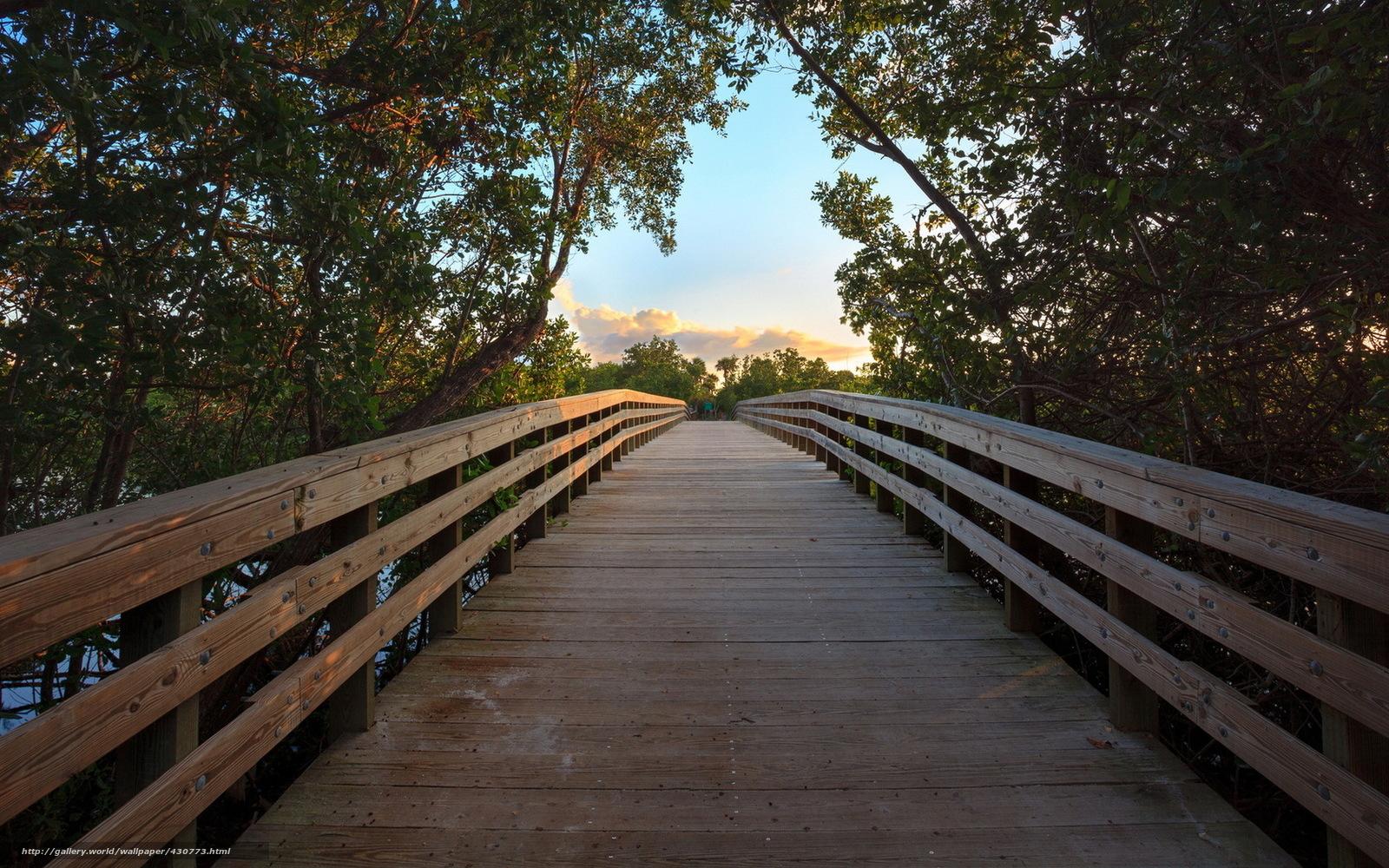 Download wallpaper river,  bridge,  landscape free desktop wallpaper in the resolution 1680x1050 — picture №430773