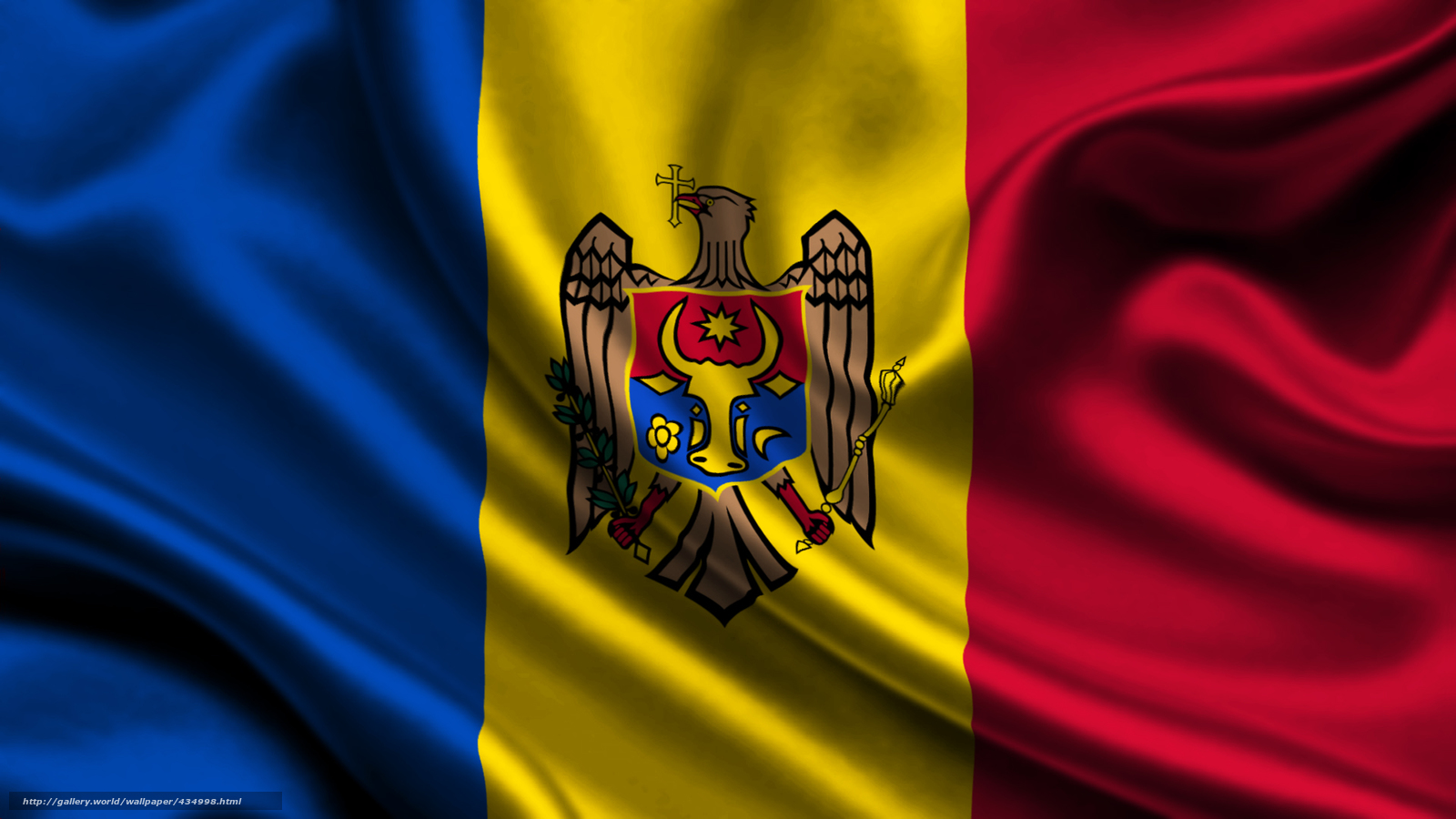 Download wallpaper moldova,  satin,  flag,  Moldova free desktop wallpaper in the resolution 1920x1080 — picture №434998