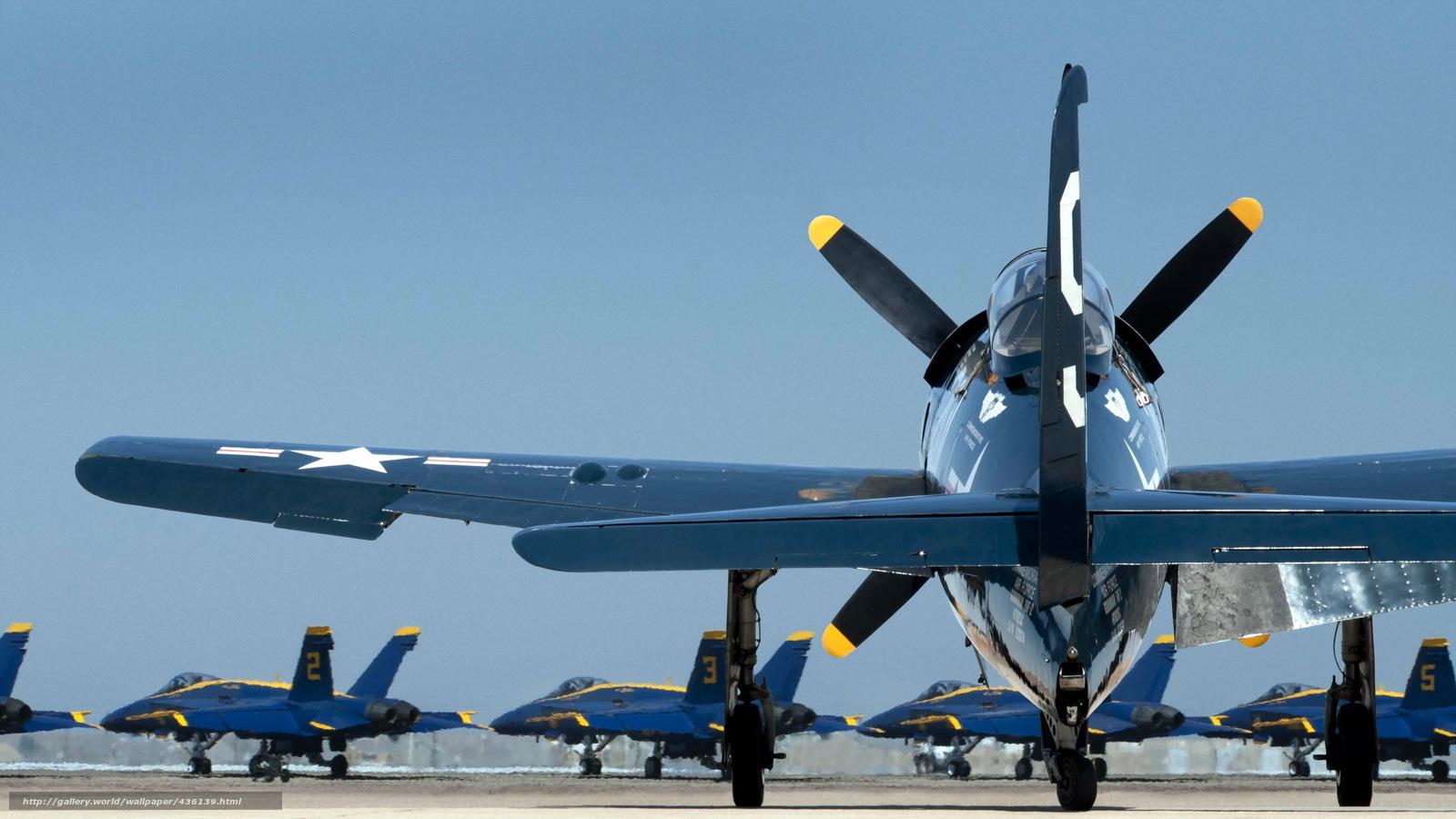 Скачать обои самолёты,  аэродром,  авиация бесплатно для рабочего стола в разрешении 2560x1440 — картинка №436139