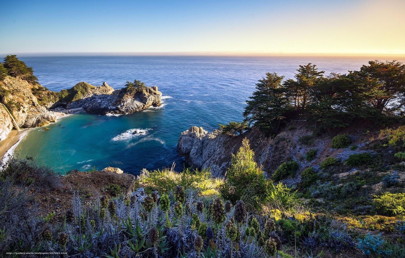 Tlcharger fond d 39 ecran beau paysage lever du soleil mer for Beau fond ecran