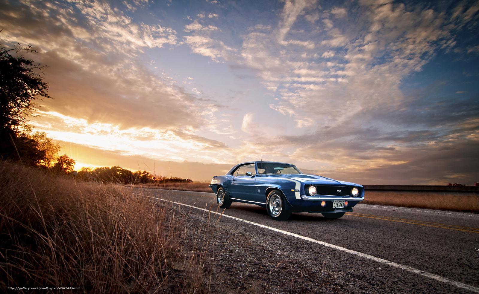 Скачать обои Chevrolet,  Camaro,  SS,  шевроле бесплатно для рабочего стола в разрешении 2048x1259 — картинка №439245