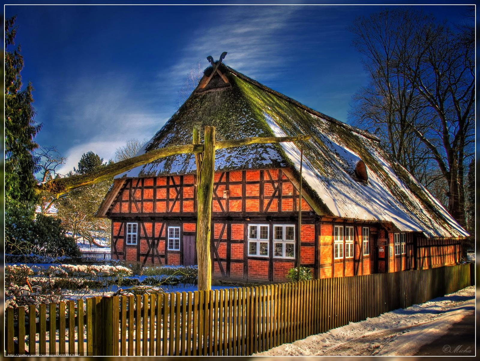 Скачать обои Германия,  Дома,  Нижняя Саксония,  Вальсроде бесплатно для рабочего стола в разрешении 2000x1502 — картинка №439250