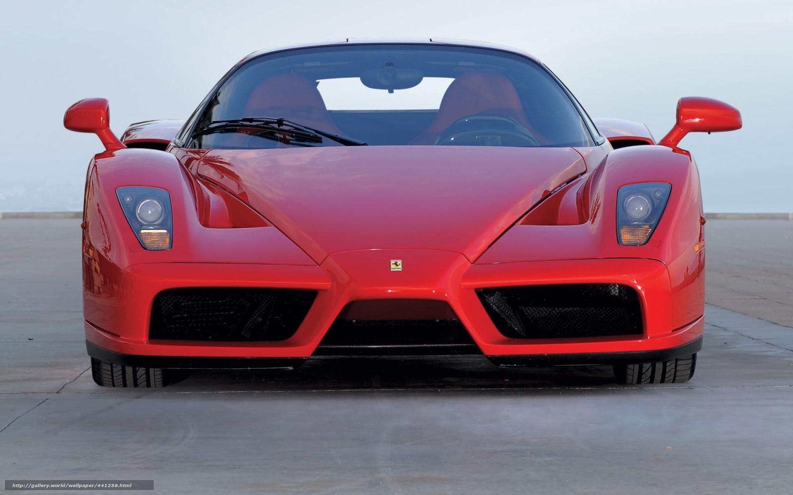 Ferrari enzo front