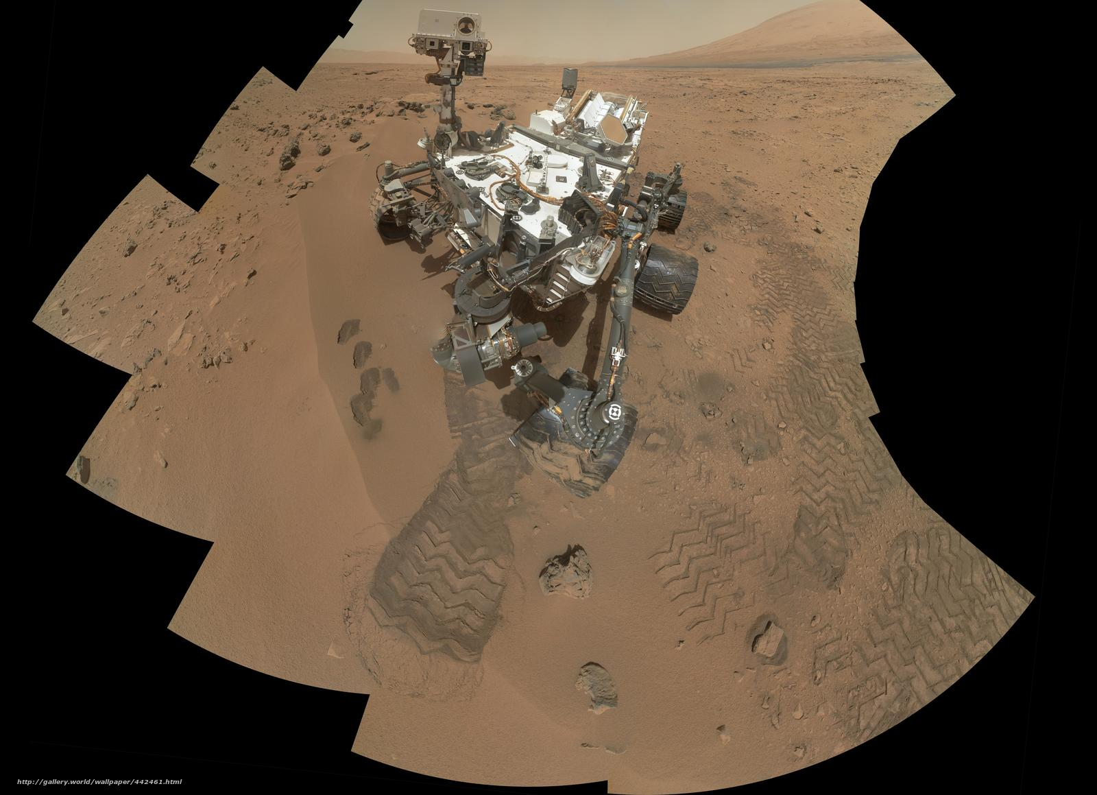 Download wallpaper curiosity,  rover at rocknest,  on mars free desktop wallpaper in the resolution 11119x8056 — picture №442461