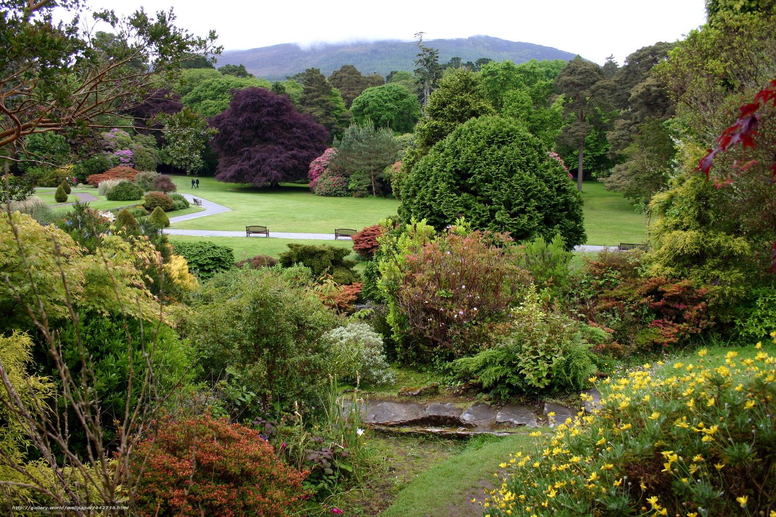 Скачать обои muckross house gardens,  Ирландия,  парк,  сад бесплатно для рабочего стола в разрешении 2220x1480 — картинка №442738